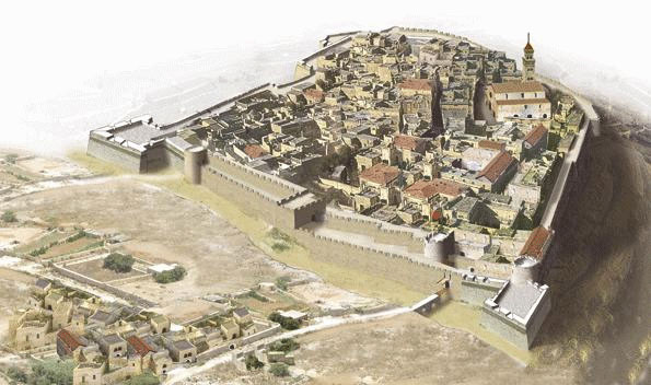 Mdina before 1693 eartquake